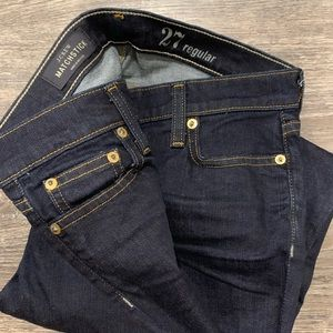 New with out tags J Crew Matchstick Jeans